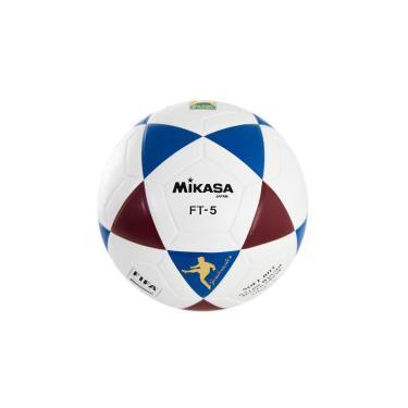 0f9b95368 Bola de Futevolêi Mikasa Original FT5 FIFA - BRANCO AZUL Mikasa