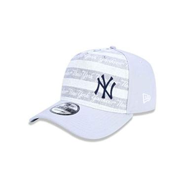 BONE 940 NEW YORK YANKEES MLB ABA CURVA SNAPBACK CINZA NEW ERA