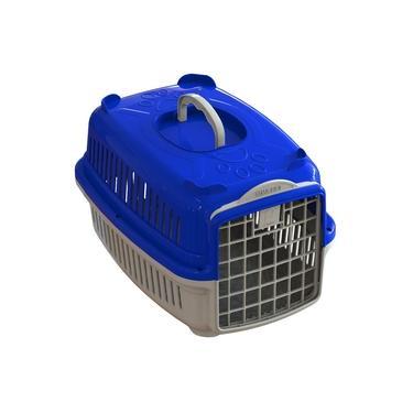 Caixa de Transporte Cachorro Gato Nº 02 Média Plástica Viagem Pet Shop