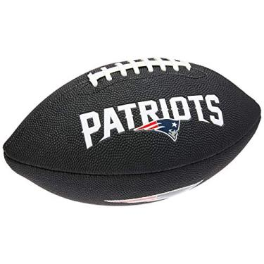 Bola Futebol Americano Nfl Team Logo Jr New England Patriots, Wilson
