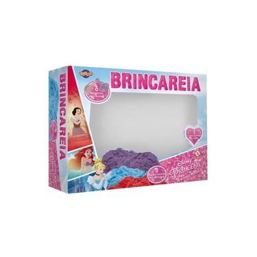 Imagem de Kit Areia De Brincar Caixa Grande Princesas