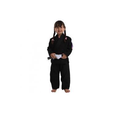 Kimono Vulkan VKN Pro - Infantil - Feminino - PRETO Vulkan 564ce0e6d2922