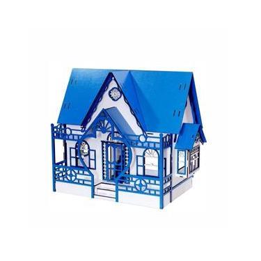 Imagem de Casinha De Boneca Polly Darama Megan Lazuli Azul