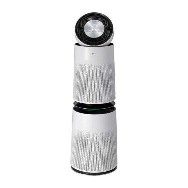 Purificador de Ar LG 2 Filtros PuriCare 360° Branco 127V AS101DWH0