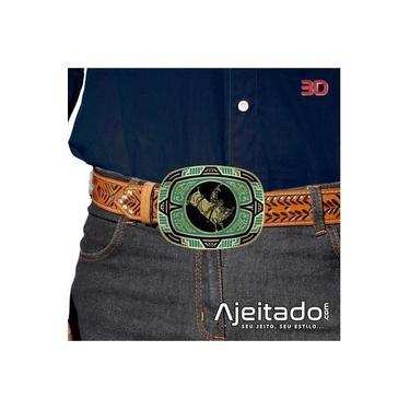 Fivela Country Touro Star'S Buckles - Tam G 11217Fj Do Verde