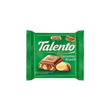 Chocolate Garoto Talento Castanha do Pará 25g
