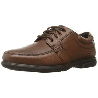 Nunn Bush Carlin Oxford Masculino, Marrom, 11.5