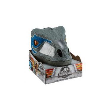 Jurassic World Máscara Eletrônica Velocipaptor - Mattel -
