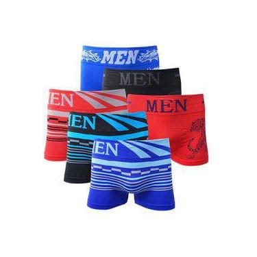 Kit com 10 Cuecas Boxer Men