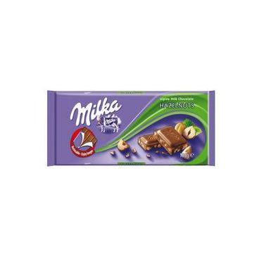 Chocolate Milka Hazelnuts 100G