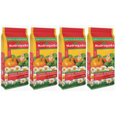 Composto de Erva Mate Cascaritas Madrugada Kit 2Kg