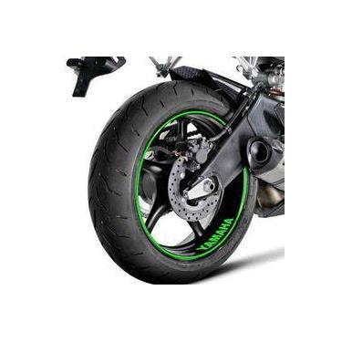 Adesivo Friso Refletivo Moto Yamaha Ténéré 250 Verde Não Desbota