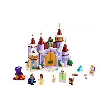 Imagem de LEGO Disney Princess Celebração Inverno Castelo - Bela