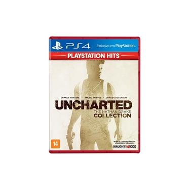 Jogo PS4 - Uncharted - The Nathan Drake Collection - PlayStation Hits - Sony