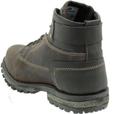 Bota Combat Fóssil - Boots Company - Café - 37
