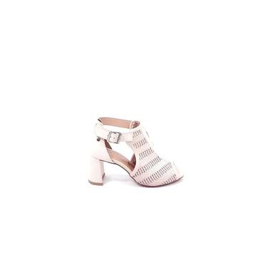Tanara Sandália Ankle Boot Salto Grosso