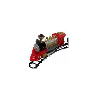 Imagem de Ferrorama Trem Máquina Locomotiva Elétrica 2 Trilhos Vagões