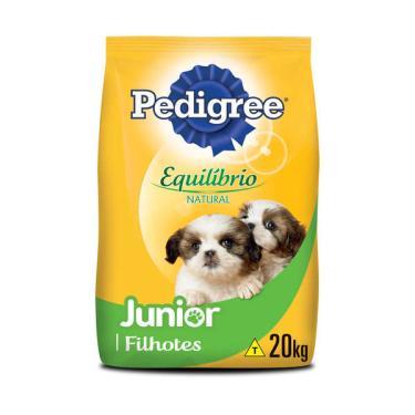 Ração Pedigree Equilíbrio Natural para Cães Filhotes - 20 Kg