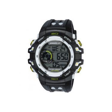 24136c2895c Relógio Digital Speedo 80614G0 - Masculino - PRETO CINZA Speedo