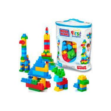 0e9166980a Mega Bloks First Builders 60 Pçs Cyp67 - Fisher-Price