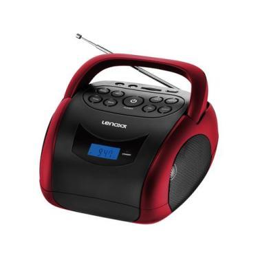 Rádio Portátil Lenoxx FM MP3 Display Digital - Bluetooth BD 150 Boombo
