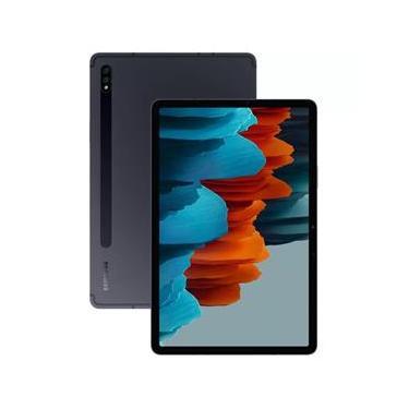 """Imagem de Tablet Samsung Galaxy Tab S7 LTE 4G com Caneta S Pen 256GB - Grafite, Tela 11"""", RAM 8GB, Câmera Dupla 13MP + 5MP e Frontal 8MP"""