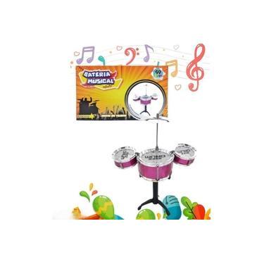Imagem de Mini Bateria Musical Infantil 99 Toys Brinquedo Criança