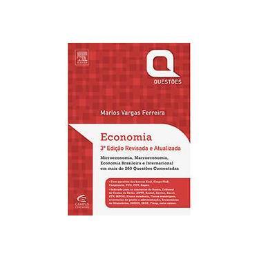 Economia: Questões - Marlos Ferreira - 9788535277586