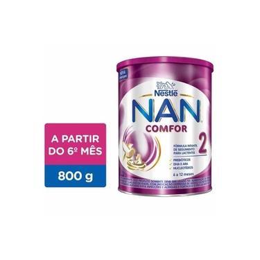 Fórmula Infantil NAN Comfor 2 Lata, 800g