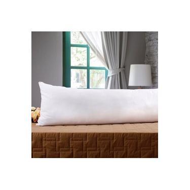 Imagem de Fronha Avulsa Gigante p/ Travesseiro Corpo 0,40x1,30m Percal 180 Fios
