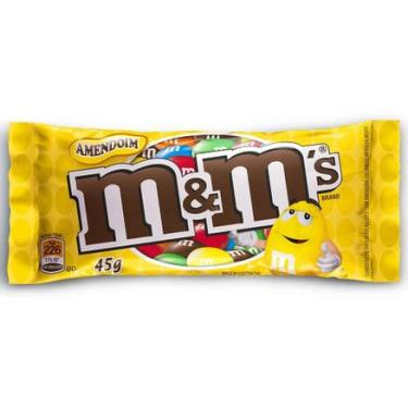 Chocolate M&M's Amendoim 45g Masterfoods