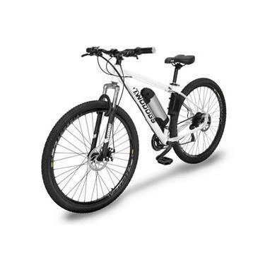 Bicicleta Two Dogs MTB Aro 29 - Branca - 21v - Elétrica
