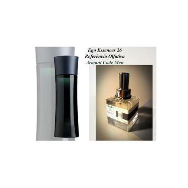 Perfume Ego 26 Referência Olfativa Armani Code Masculino 110ml
