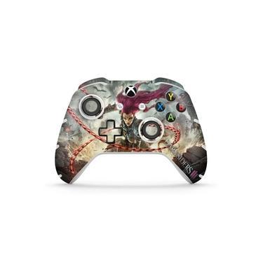Skin Adesivo para Xbox One Slim X Controle - Darksiders 3