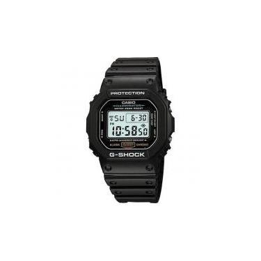 ce7a54e1baf Relógio Casio Standard Masculino Digital G-shock Dw-5600e-1vdf -
