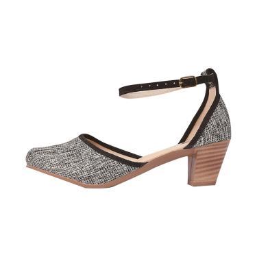 Sandália Romântica Calçados Salomé Cinza  feminino