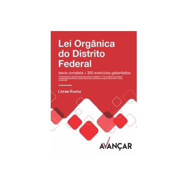 Imagem de Apostila Para Lei Orgânica do Distrito Federal