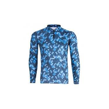 Camiseta Masculina King Brasil KFF75 M Sublimada Proteção UV 50+ 84cc1779e571b
