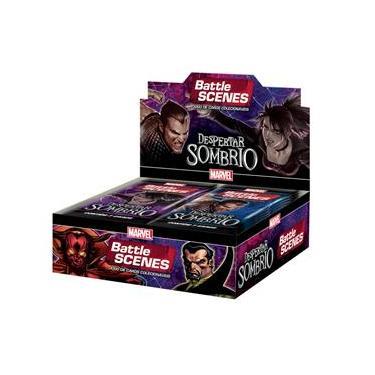 Imagem de Box Booster Marvel Battle Scenes Despertar Sombrio da Copag
