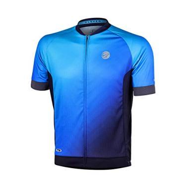 Camisa Mc Masculina, Mauro Ribeiro Sports, Clever Az M, Azul