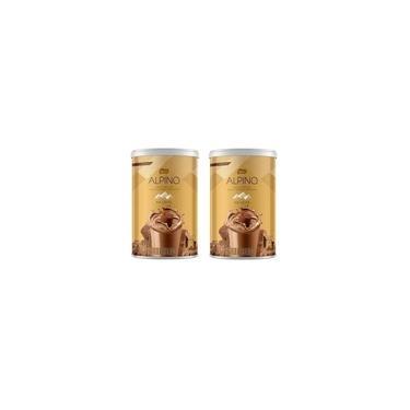 Kit 2 Nestle Sabor Alpino Achocolatado Em Pó Lata 200Gr
