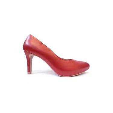8373e63e26 Sapato Scarpin Meia Pata Y3601 Usaflex (41)