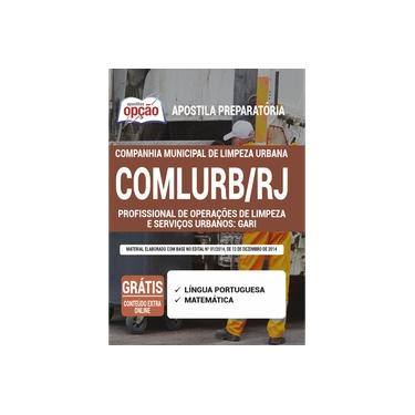 Imagem de Apostila Concurso COMLURB - Gari