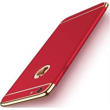 Capa para celular 3 em 1 8 mais caso tampa traseira para o iphone 7 8 coque original hard case protetora para iphone 7 8 escudo do telefone