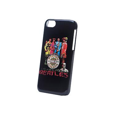 Capa para iPhone 5c Policarbonato The Beatles Sgt. Peppers - Customic