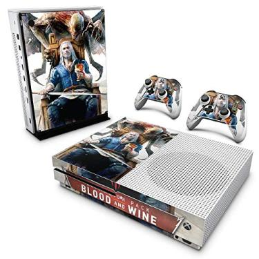 Skin Adesivo para Xbox One Slim - The Witcher 3 Blood And Wine