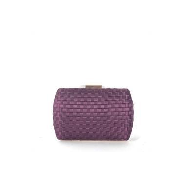 Bolsa clutch violeta