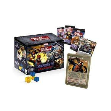 Imagem de Master Box Battle Scenes Marvel Confronto Aracnideo Copag