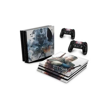 Skin Adesivo para PS4 Pro - The Witcher #B