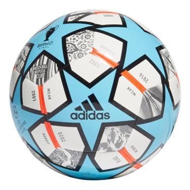 Bola Futebol Campo Adidas UCL Finale Club 21 GK3474, Cor: Azul/Branco, Tamanho: 5
